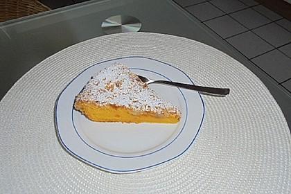 Kürbis Pie - Kuchen mit Walnuss - Streuseln 5