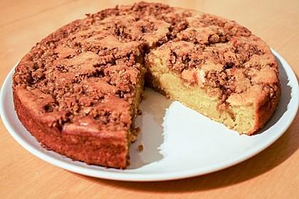 Kürbis Pie - Kuchen mit Walnuss - Streuseln 23