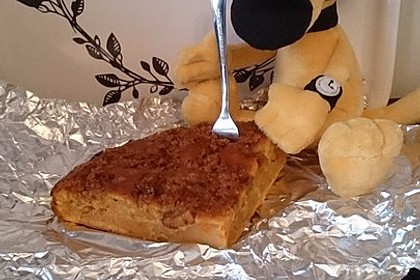 Kürbis Pie - Kuchen mit Walnuss - Streuseln 24