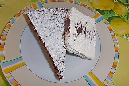 Torta al cioccolato morbide 23