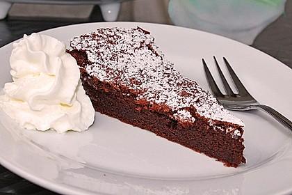 Torta al cioccolato morbide 5
