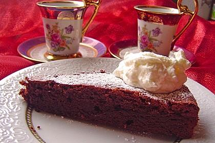 Torta al cioccolato morbide 17