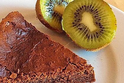 Torta al cioccolato morbide 11