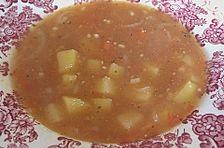 Fruchtige Tomaten - Kartoffelsuppe