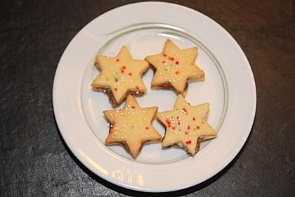 Butterplätzchen - Weihnachtsplätzchen 45