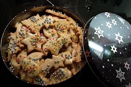 Butterplätzchen - Weihnachtsplätzchen 64