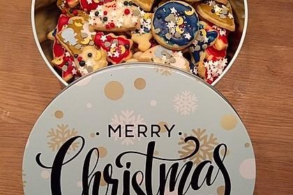 Butterplätzchen - Weihnachtsplätzchen 61