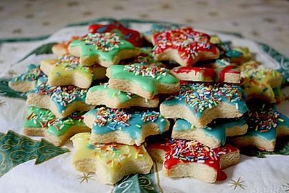 Butterplätzchen - Weihnachtsplätzchen 24