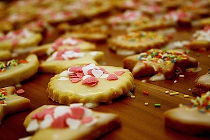 Butterplätzchen - Weihnachtsplätzchen 15
