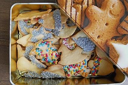 Butterplätzchen - Weihnachtsplätzchen 53