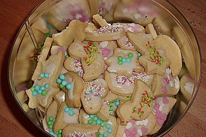Butterplätzchen - Weihnachtsplätzchen 40