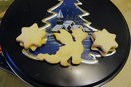 Butterplätzchen - Weihnachtsplätzchen 54