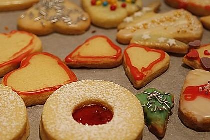 Butterplätzchen - Weihnachtsplätzchen 26