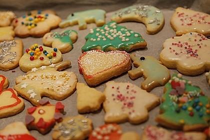 Butterplätzchen - Weihnachtsplätzchen 4