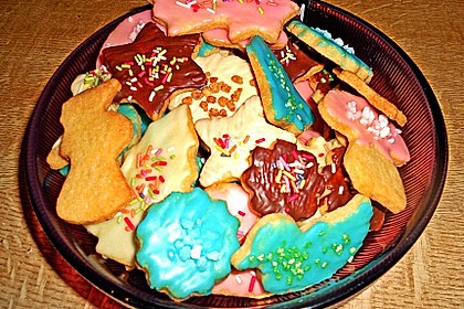 Butterplätzchen - Weihnachtsplätzchen 34