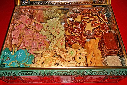 Butterplätzchen - Weihnachtsplätzchen 44