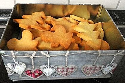 Butterplätzchen - Weihnachtsplätzchen 43