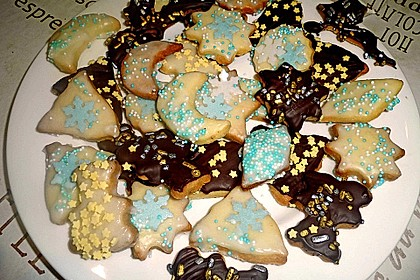 Butterplätzchen - Weihnachtsplätzchen 16