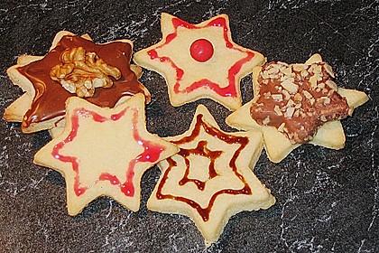 Butterplätzchen - Weihnachtsplätzchen 50