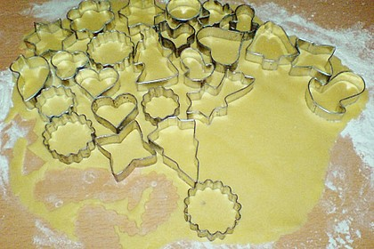 Butterplätzchen - Weihnachtsplätzchen 76