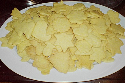 Butterplätzchen - Weihnachtsplätzchen 67