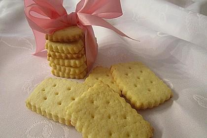 Butterplätzchen - Weihnachtsplätzchen 6