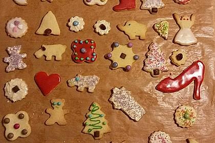 Butterplätzchen - Weihnachtsplätzchen 32
