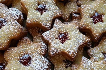 Butterplätzchen - Weihnachtsplätzchen