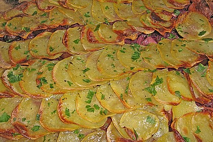 Gratin vom Rotkohl mit Kartoffelhaube 1