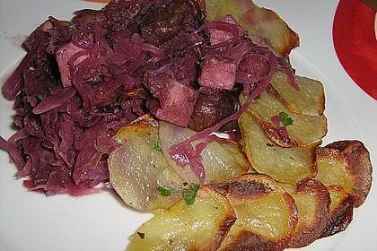 Gratin vom Rotkohl mit Kartoffelhaube 2