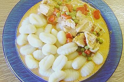 Puten - Gulasch mit Paprika und Rahm 7