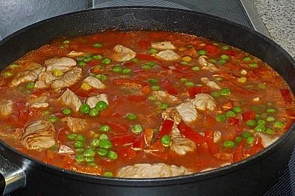 Puten - Gulasch mit Paprika und Rahm 10