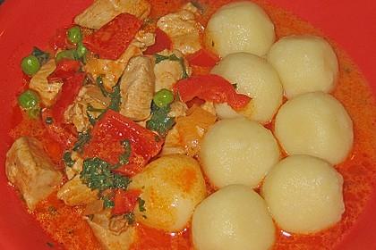 Puten - Gulasch mit Paprika und Rahm 5