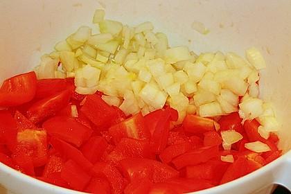 Puten - Gulasch mit Paprika und Rahm 11