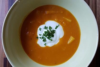 Kürbissuppe mit Ingwer und Kokos 45