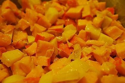 Kürbissuppe mit Ingwer und Kokos 42