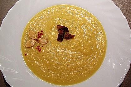 Kürbissuppe mit Ingwer und Kokos 40