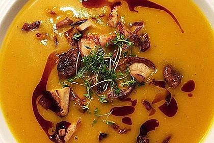 Kürbissuppe mit Ingwer und Kokos 6