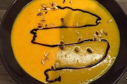 Kürbissuppe mit Ingwer und Kokos 27