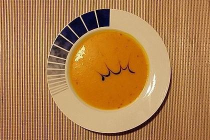 Kürbissuppe mit Ingwer und Kokos 13