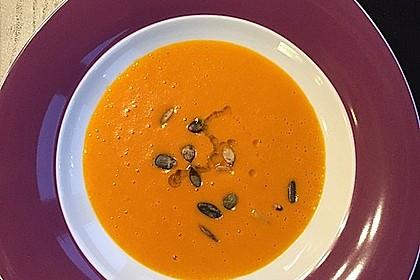 Kürbissuppe mit Ingwer und Kokos 29