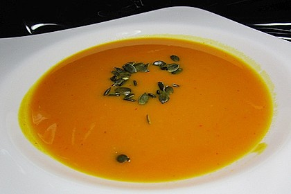 Kürbissuppe mit Ingwer und Kokos 7