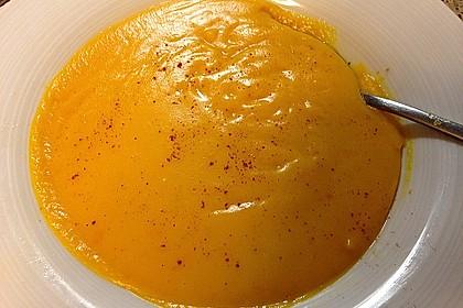 Kürbissuppe mit Ingwer und Kokos 48