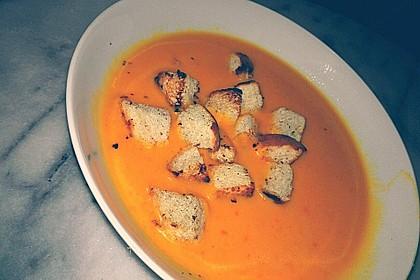Kürbissuppe mit Ingwer und Kokos 41