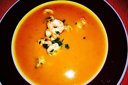 Kürbissuppe mit Ingwer und Kokos 12