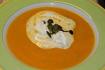 Kürbissuppe mit Ingwer und Kokos 20