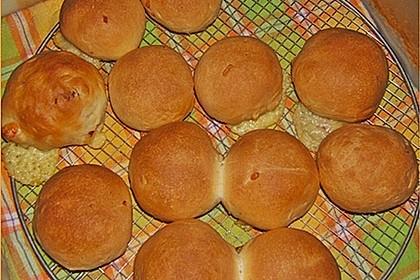 Weiche Brötchen gefüllt mit Hackfleisch 48