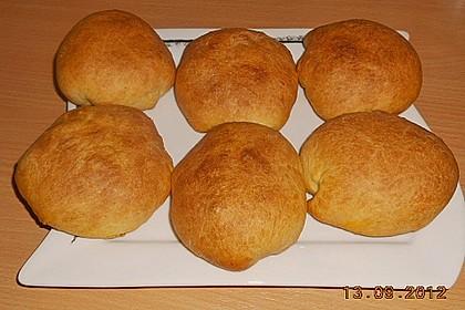 Weiche Brötchen gefüllt mit Hackfleisch 35