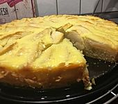 Apfelkuchen mit Vanille - Schmand