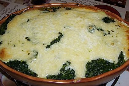 Kartoffel - Spinat - Auflauf 16